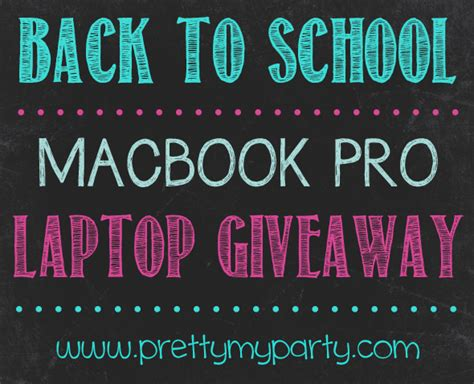 Free Apple Laptop Giveaway - want to win a free macbook pro