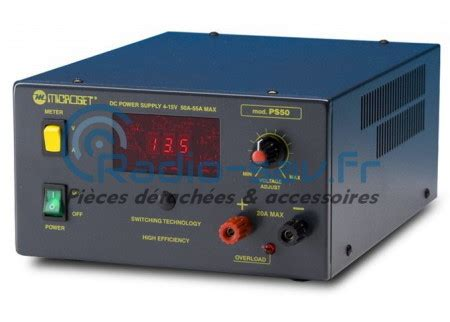 microset ps 50 power supply