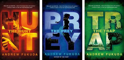 the the trilogy books the hunt series the hunt the prey the trap by andrew