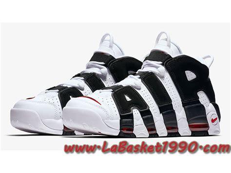 Sepatu Basket Air More Uptempo Bulls Black White nike air more uptempo blanc and noir