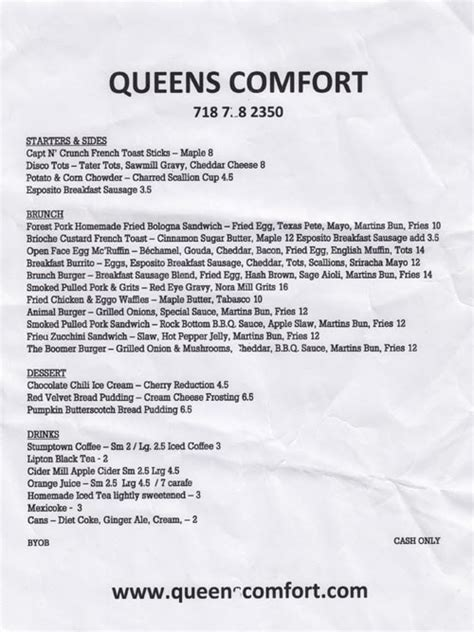 queens comfort menu queens comfort 40 09 30th avenue astoria queens