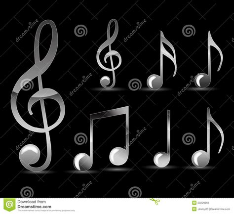 black song black note royalty free stock image image 20229866