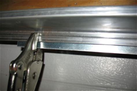 Garage Door Top Strut by Low Headroom Modification For Steel Doors