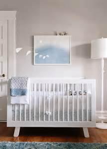 White Crib Nursery by White And Gray Boys Nursery Transitional Nursery