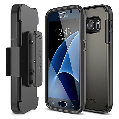 For Samsung Galaxy S7 Hardcase W Kick Stand Anti Shock Armor Tpu galaxy s7 holster trianium duranium series heavy duty import it all