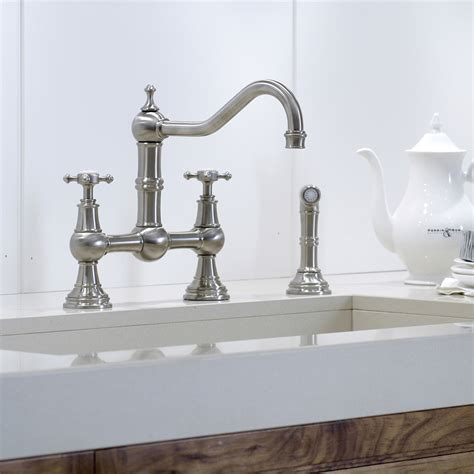 Kitchen Faucets Toronto Kitchen Faucets Toronto Easton Classic Two Hole Bridge