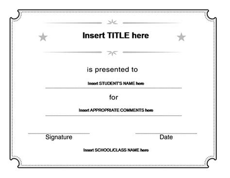 blank certificate templates for word blank certificate templates kiddo shelter