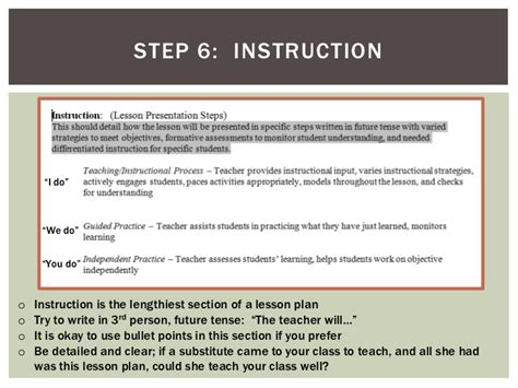 7 step lesson plan template 7 step lesson plan step 7 complete unit plan for