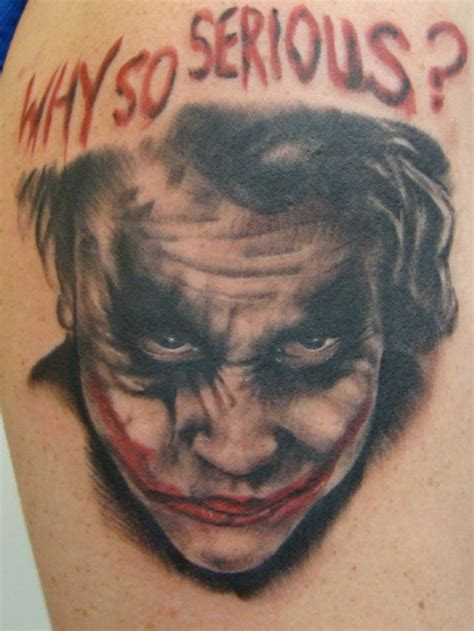 i love this tattoo check it out the joker http www