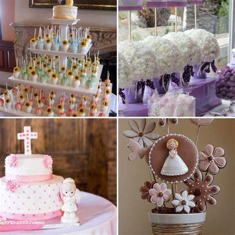 decoracion primera comunion t mesa de dulces
