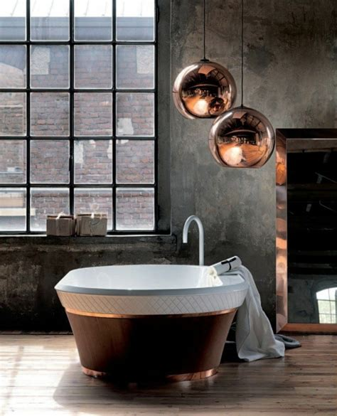 pendelleuchten im badezimmer badewanne freistehend ideen und inspirierende badezimmer