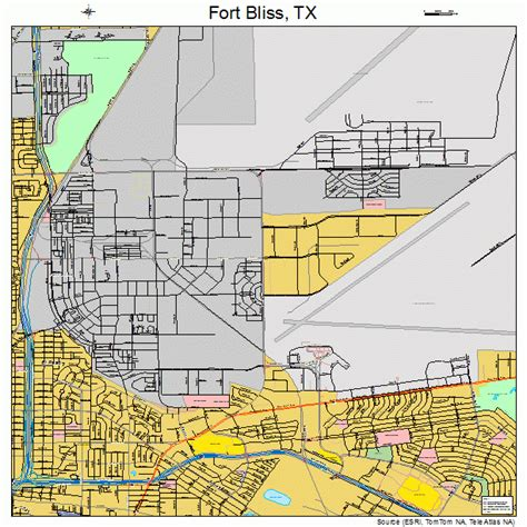 fort texas on map fort bliss texas map 4826664