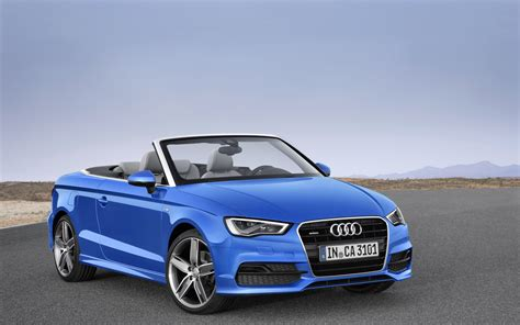 audi  cabriolet  widescreen exotic car picture
