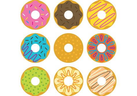 graphics clipart free vector donuts illustrations free vector