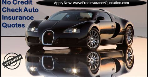 Check Car Insurance Rates by No Credit Check Car Insurance Quotes To Reduce Insurance