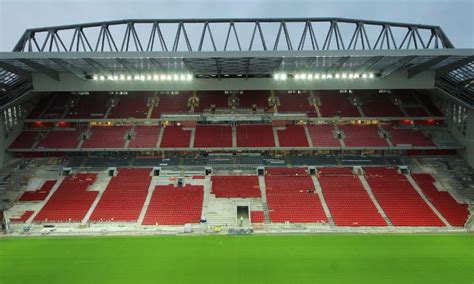 Main Stand latest: New floodlights tested for first time   Liverpool FC