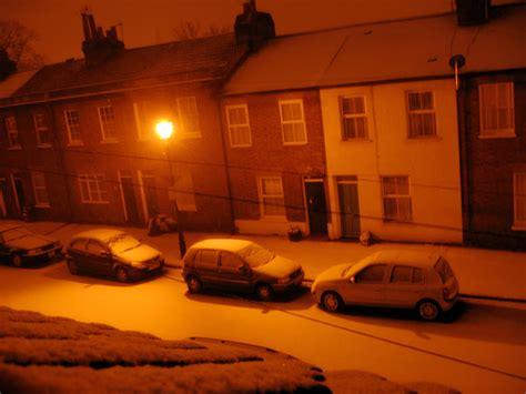 warm orange warm orange glow of snow inel