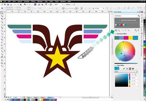 corel draw x6 logo design coreldraw graphics suite tutorials