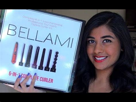 belami 6 in 1 hair curler review bellami 6 in 1 curling wand set runway flat iron
