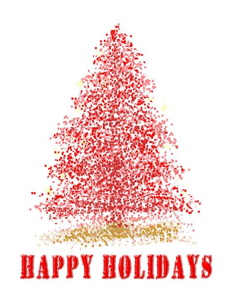 christmas tree happy holidays painting christmas tree