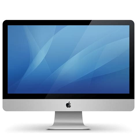 apple monitor imac apple monitor transparent png stickpng