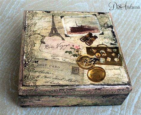Decoupage Jewelry Ideas - best 25 decoupage box ideas on diy decoupage