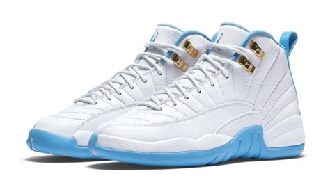 light blue air jordans air 12 gs blue kicksonfire com