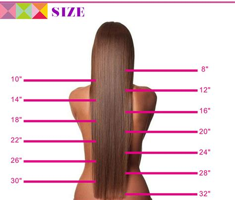 how long is a 14 inch for hair wholesale 14 quot 30 quot inch 100 human hair ponytail mink