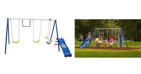 flexible flyer swing free metal swing set flexible flyer swing free metal swing set fabulessly frugal