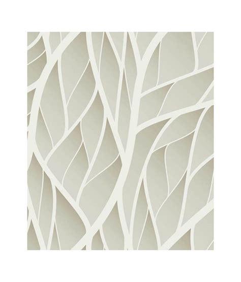 grey leaf pattern wallpaper buy paw gray neutral leaves pattern wallpaper panel online