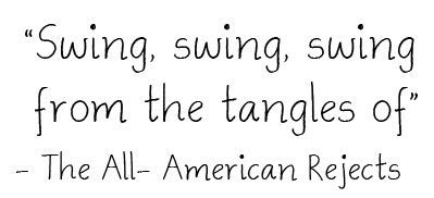 swing swing all american rejects lyrics the inspiration files lyrics to live by