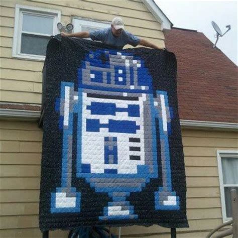 R2d2 Quilt you to see r2d2 wars quilt on craftsy