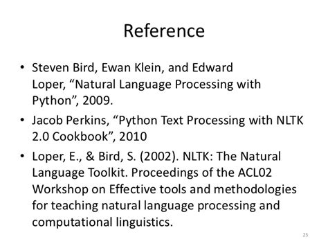 language processing with python cookbook 60 recipes to implement text analytics solutions using learning principles books nltk language toolkit overview and application pyhug