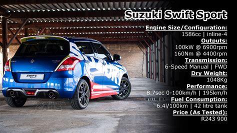 Suzuki Sport Specifications Review Suzuki Family Torquing Cars