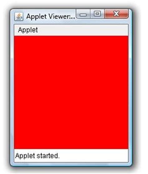 java layout color set background color of an applet window exle