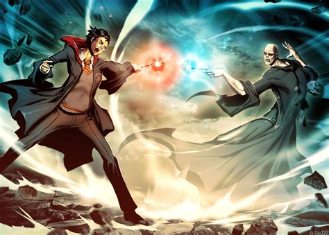 libro strange fire itpe harry potter vs voldemort by genzoman on