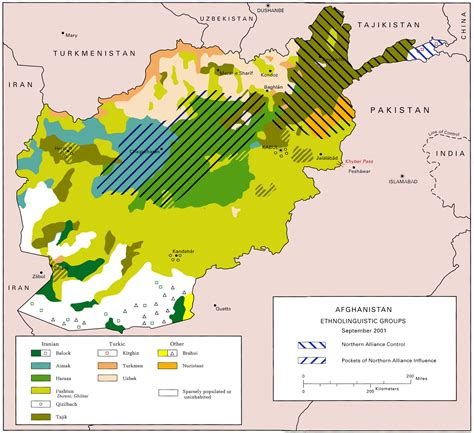 map of af languages of afghanistan map