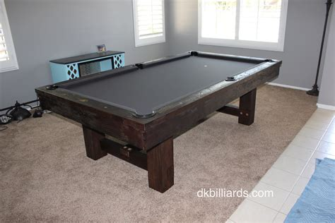 pottery barn pool table pottery barn style rustic pool table pool table service