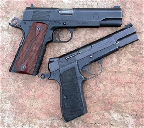 hi powers  handguns: browning hi power or 1911 for defense?
