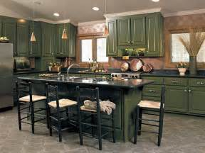 Green Kitchen Cabinet by Green Cabinets For Kitchen Fortikur