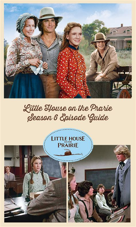 little house on the prairie episode guide little house on the prairie episode guide season 6