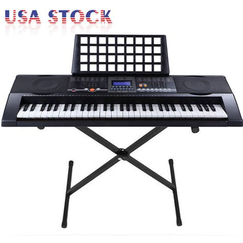 Keyboard Piano Techno T9880i electronic piano keyboard 61 key electric piano with