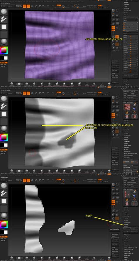 central pattern generator tutorial torn cloth tutorial