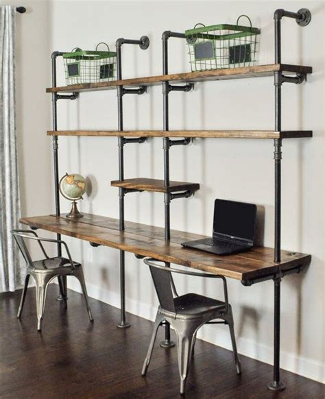office desk with bookcase and shelving industrial desk and shelf unit 8 and 10 by baxterhouse