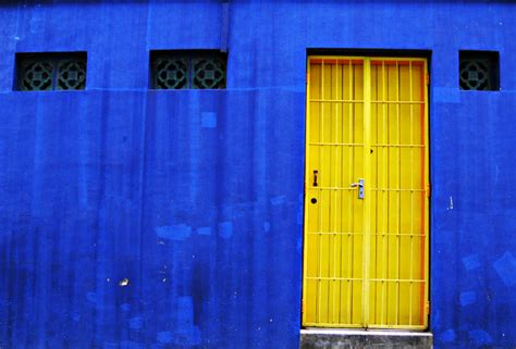 blue house yellow door k a t o o m b a s y n d r o m e the really blue house