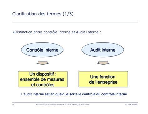 audit intern les fondamentaux de l audit interne