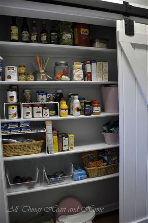 Another Word For Pantry by Pantry With A Sliding Barn Door All Things And Home