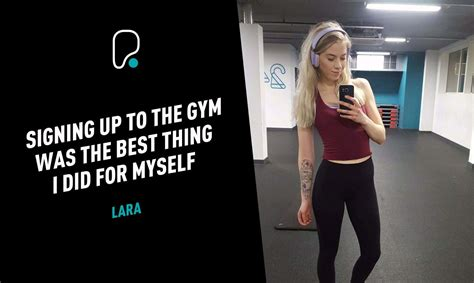 lara member story puregym
