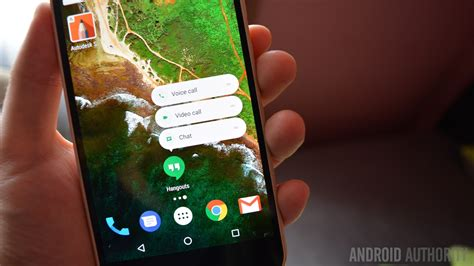 android hangouts brings app shortcuts to its hangouts app android authority