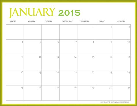 january 2015 day planner printable free printable calendar free printable calendar january